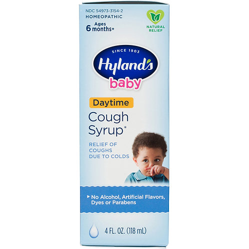 Hylands Baby Daytime Cough Syrup