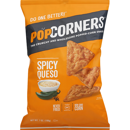 Popcorners Spicy Queso 7oz