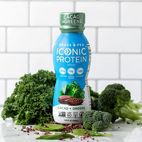 Grass Fed Iconic Protien 11.5 oz