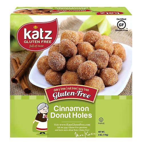 Katz Gluten Free Cinnamon Donut Holes 6oz