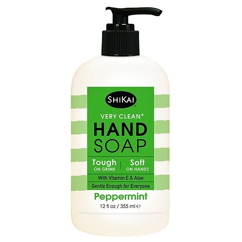Shikai Hand Soap Peppermint 12oz