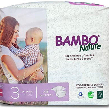 Bambo Nature/ 33 diapers size 3