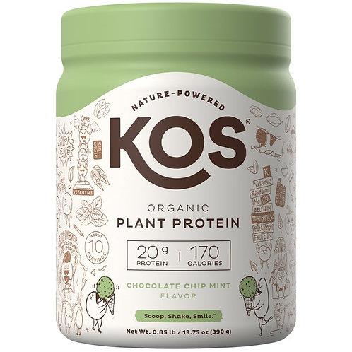 KOS Plant Protein Chocolate Chip Mint 13.75 oz