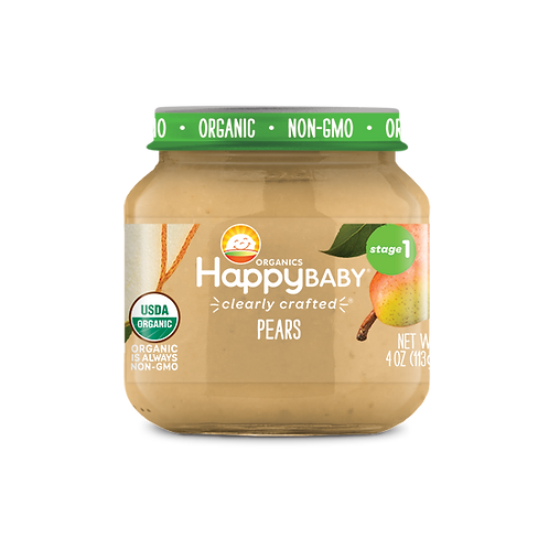 Happy Baby Pears 4oz