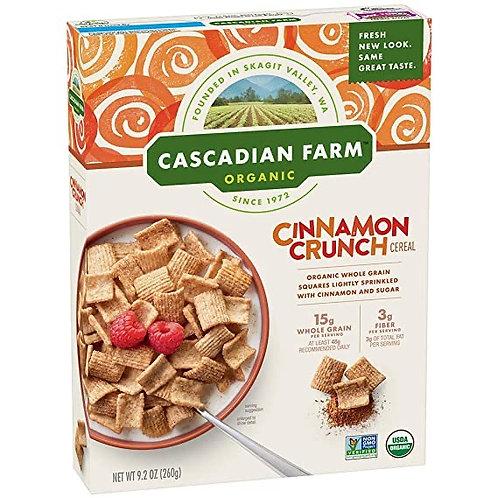 Cascadian Farm Cinnamon Crunch 9.2 oz