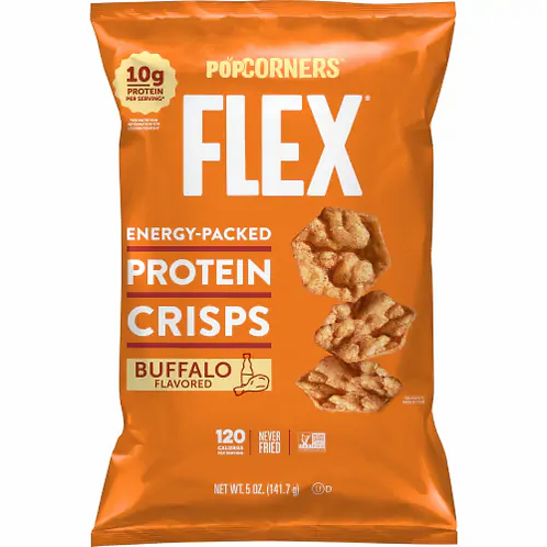 Popcorners Flex Energy Packed Protein Crisps 5oz