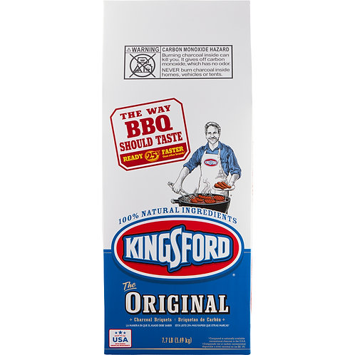 KingsFord The Orginal Charcoal Briquet 8 LB