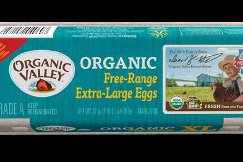 Organic Valley Free Range Extra Large Eggs