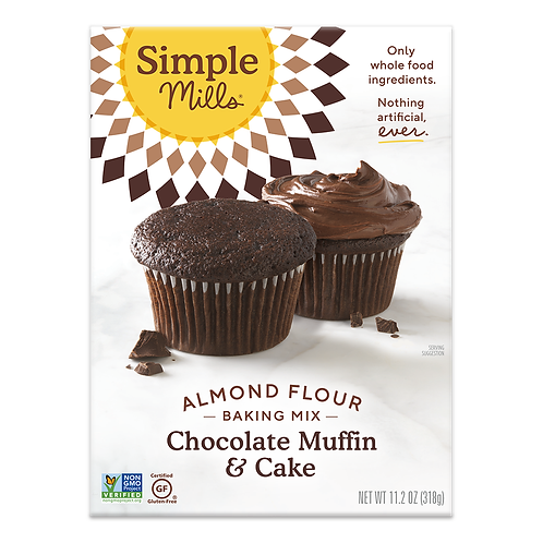Simple Mills Chocolate Muffin Cakes 11.2 oz