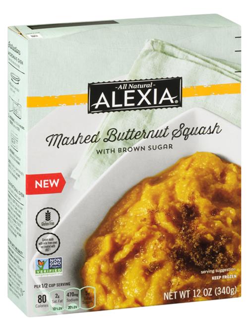 All Natural Alexia Mashed Butternut Squash 12oz