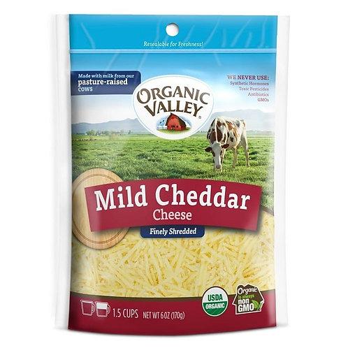 Organic Valley Mild Cheddar 6oz