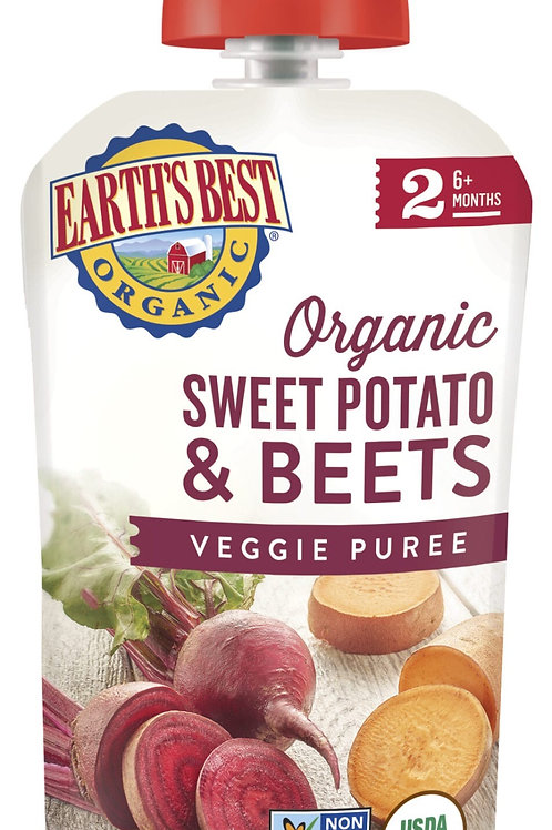 Earth Best Organic Sweet Potato and Beets