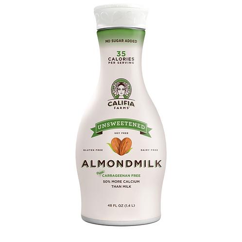 Califia Farms - Almond Milk, Unsweetened 48oz