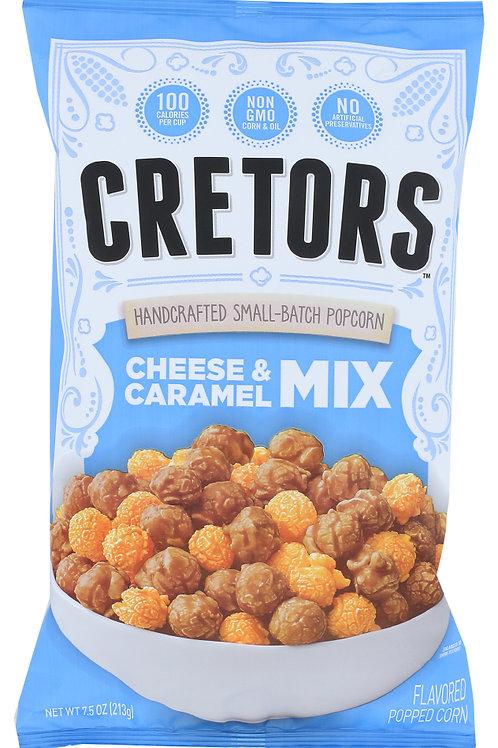 Cretors Cheese and Carmael Mix 7.5 oz