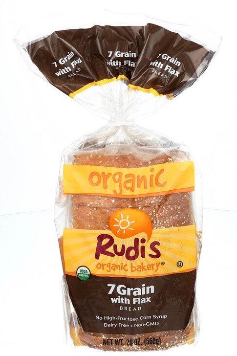 Rudis 7Grain Flax Bread