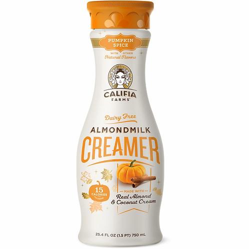 Califia Pumpkin Spice Almondmilk Creamer 24.5 oz