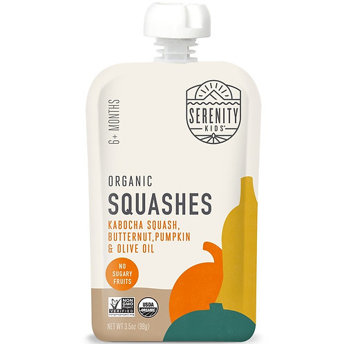 Serenity Squash, Butternut, Pumpkin and Olive Oil 3.5 oz
