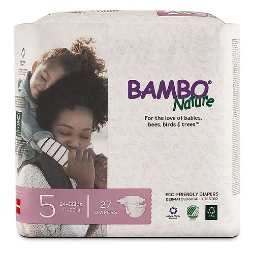 Bambo Nature/ 27 diapers size 5