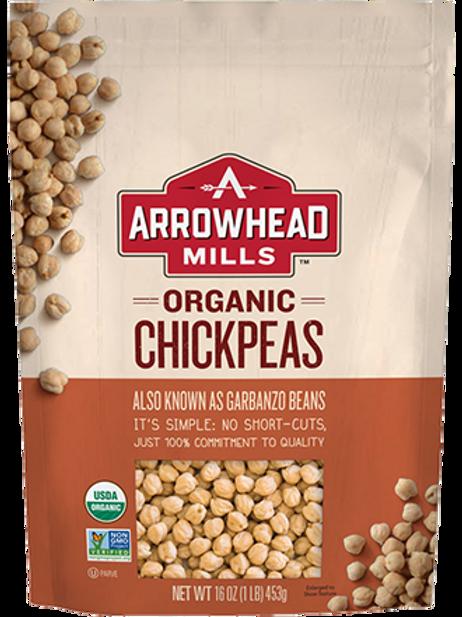 Arrowhead Mills Organic Chickpeas