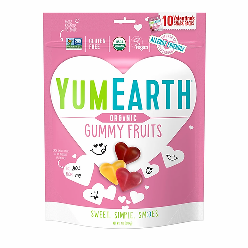 Yum Earth Organic Gummy Fruit 7oz