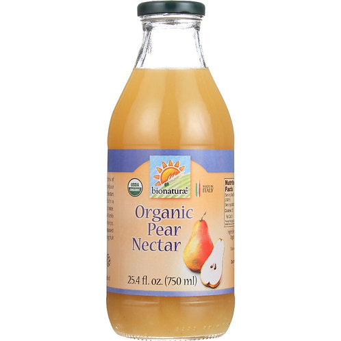 Organic Pear Nectar 24.5 oz