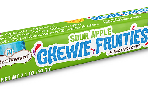 Torie and Howard Sour Apple Chewie Fruit 2.1 oz