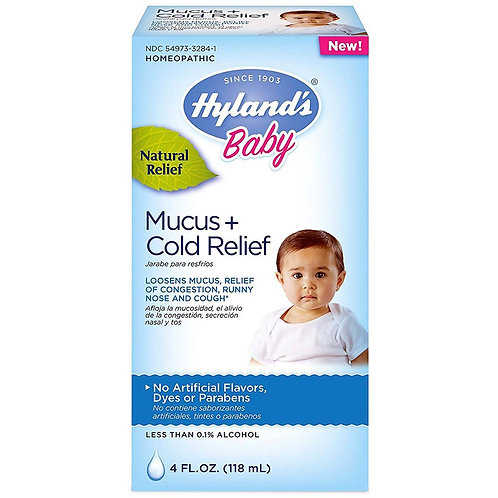 Hyland Baby Mucus + Cold Relief