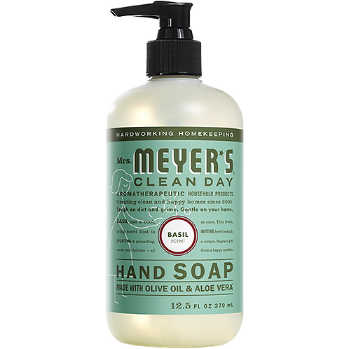Mrs. Meyer Clean Day Hand Soap Olive Oil and Aloe 12.5 oz