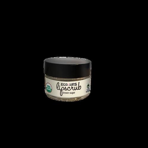 Eco Lips Lip Scrub Brown Sugar 0.5 oz/ Each