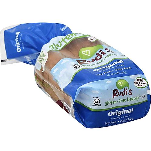 Rudis Original Gluten Free