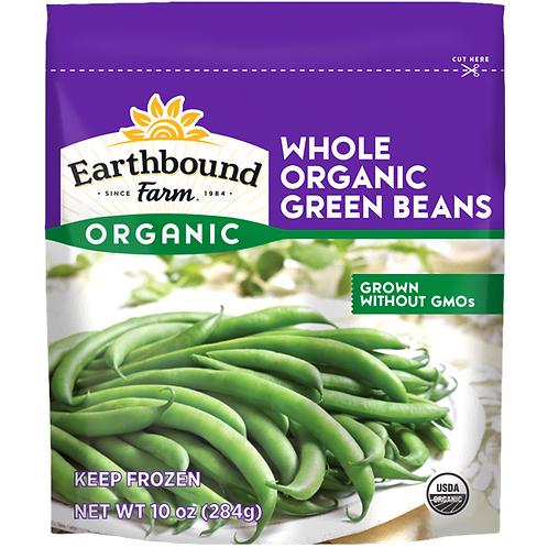 Earthbound Organic Green Beans 10 oz