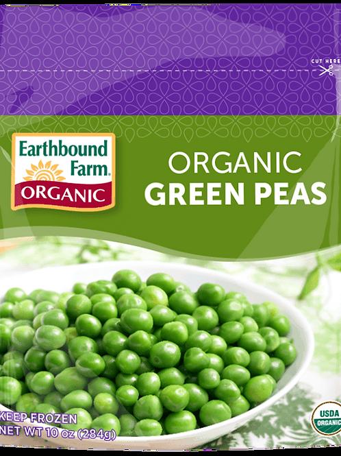 Organic Green Peas 10 oz
