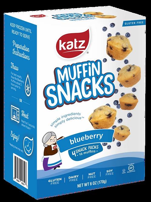 Katz Muffin Snacks Blueberry 6oz