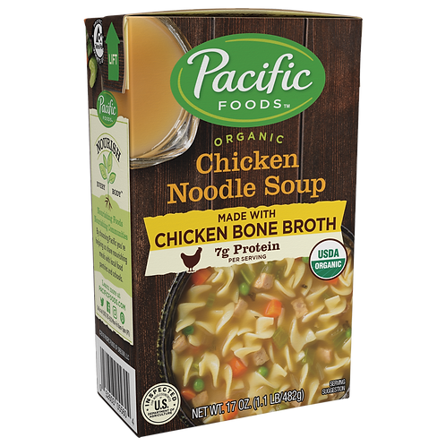 Pacific Chicken Noddle Soup