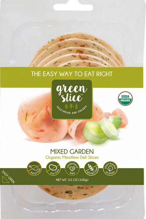 Mixed Green Deli Slices