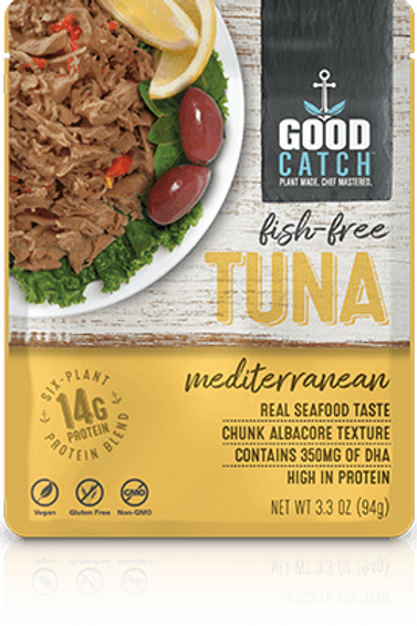 Good Catch Fish - Free Tuna Mediterranean 3.3 oz