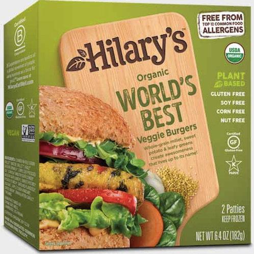 Hilarys Organic Best Veggie Burgers 6.64 oz