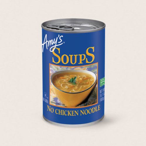 Amy's No Chicken Noddle Soup