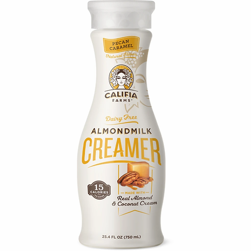 Calfia Pecan Carmel Almondmilk Creamer 24.5 oz