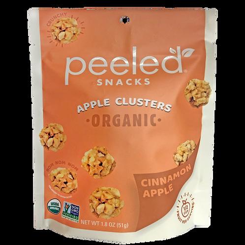 Dried Fruit Peeled Apple Clusters Organic 1.8oz