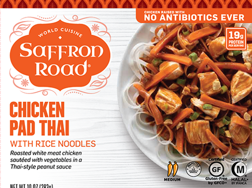 Saffron Chicken Pad Thai 10 oz