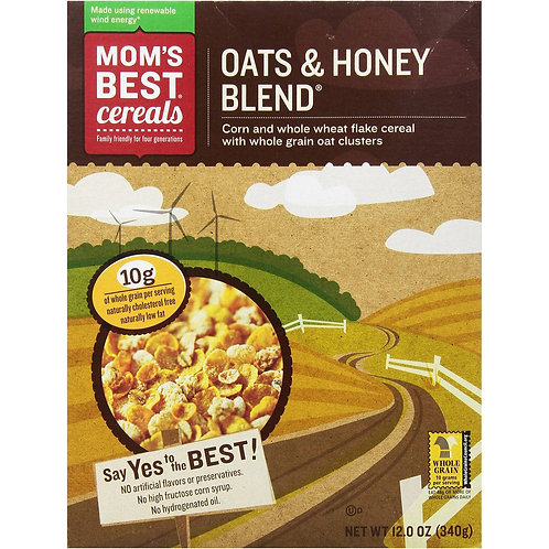 Mom's Best Cereal Oats and Honey Blend 22oz