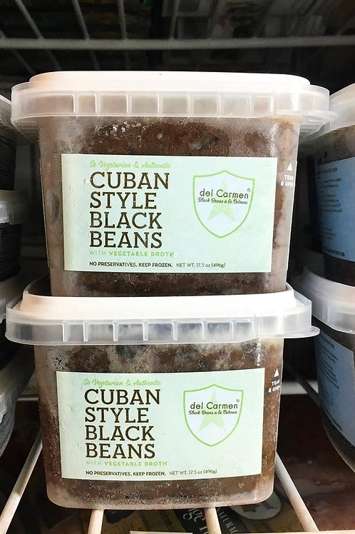 Del Carmen Cuban Style Black Beans  16oz