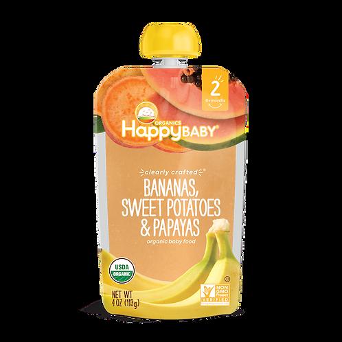 Happy Baby Banana, Sweet Potato and Paypas