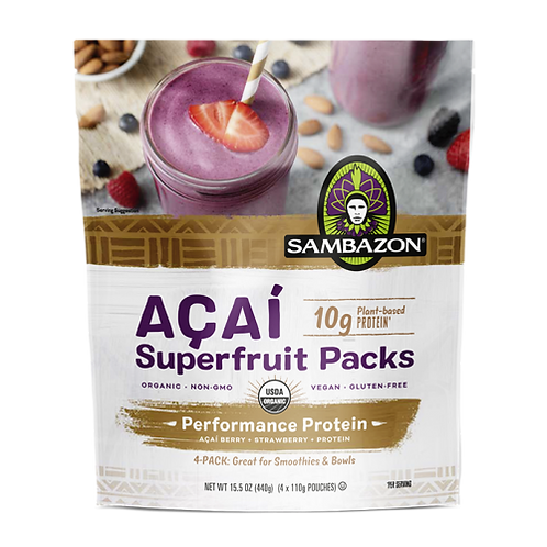 Sambazon Acai Superfruit Packs 15.2 oz