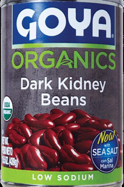 Goya Foods Organic Dark Red Kidney Beans 15oz