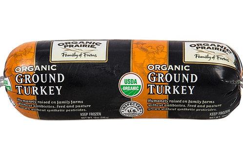 Organic Prairie Ground Turkey 12oz