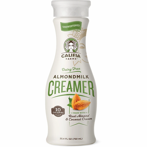 Calfia Almondmilk Creamer Unsweet 25.4 oz