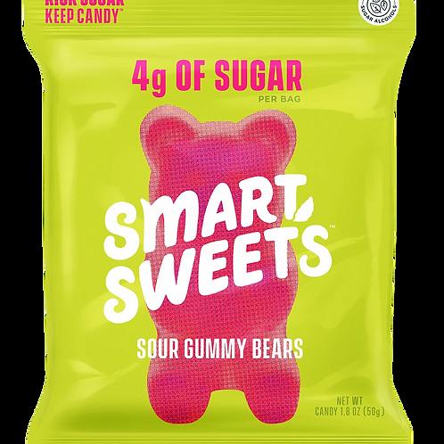 Smart Sweets Sour Gummy Bears 1.8 oz