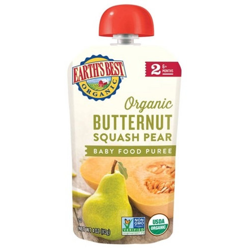 Earth Best Organic Butternut Squash Pear